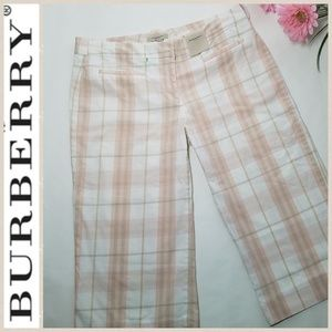 Burberry Capris Bermuda Shorts Plaid Nova Check 8
